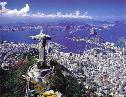 Rio de Janeiro i Brasilien är världens vackraste stad