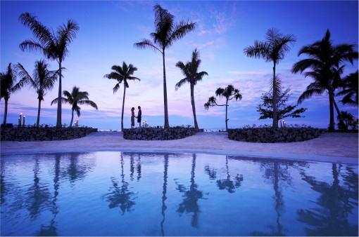Romantiska Fiji erbjuder en underbar miljö